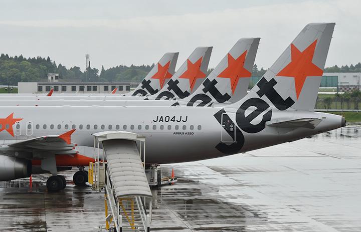 ジェットスター・ジャパン、10月も国内線5割超減便 運休2路線