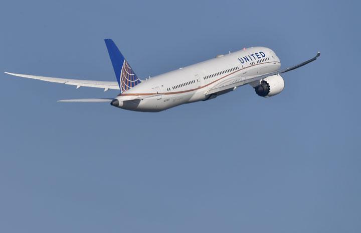 ユナイテッド航空、羽田-シカゴ減便 週3往復に