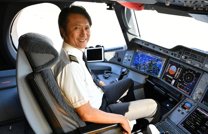 「パイロットはおもてなしの舞台装置をコントロールする側」 JAL A350運航乗員部長・立花機長に聞く