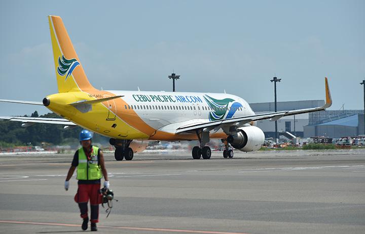 セブパシフィック航空、中部-マニラ9月再開 週1往復