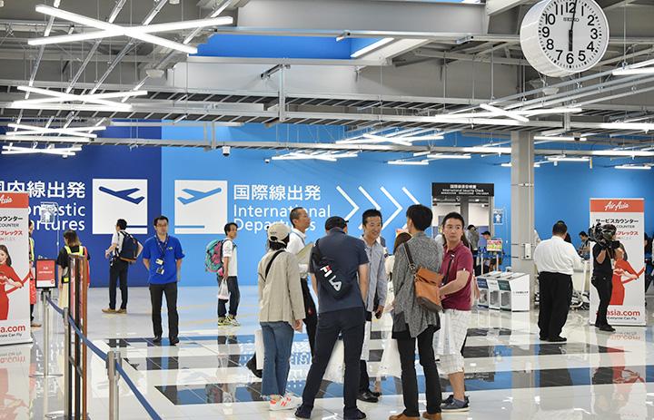 中部空港、LCCターミナル19日再開 国内線のみ、初便は福岡