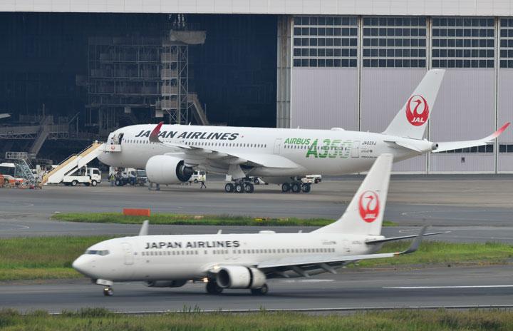 JAL国内線、11月26%減便 需要回復傾向に