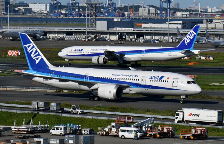 ANA国際線、羽田を優先再開も 事業構造改革
