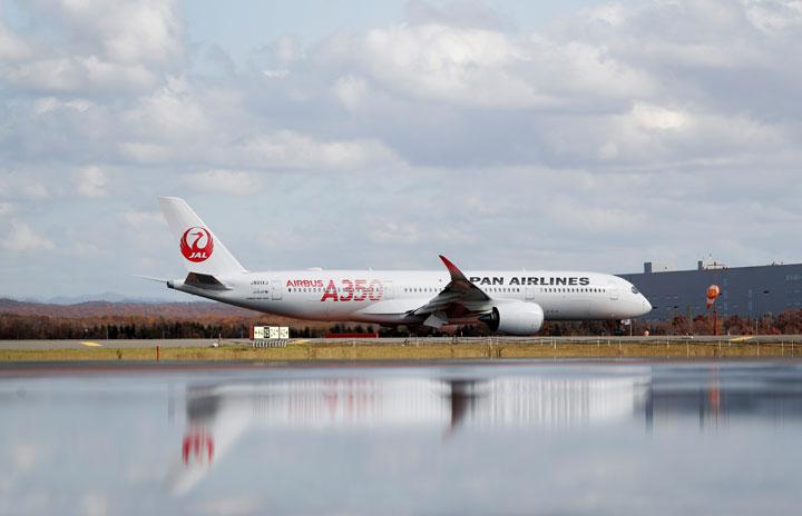 JAL、公募増資で最大1680億円調達 A350導入やZIPAIR向け787改修