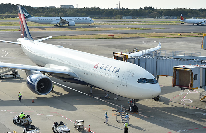 デルタ航空のA330neo、中部に10月17日飛来 フォトコンテスト開催