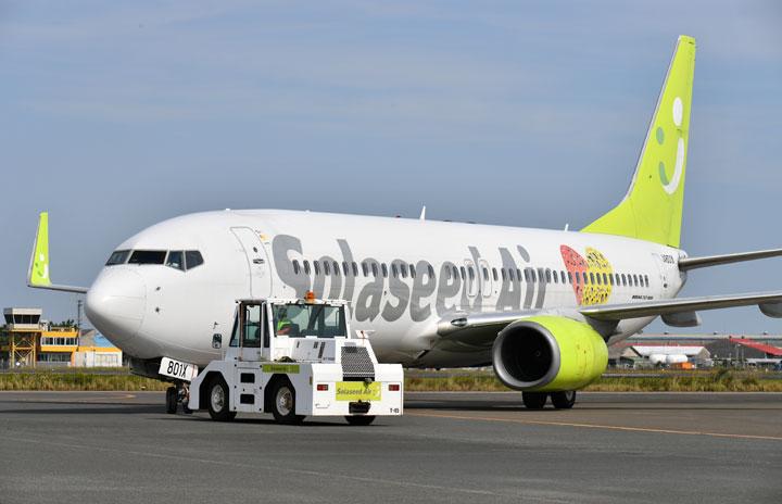 ソラシド、羽田5路線で1月追加減便 2月は10路線804便