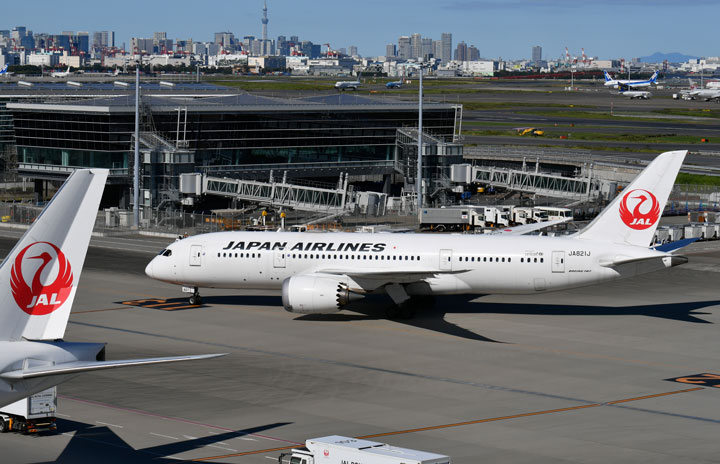 JAL、北米増便もタイ・ベトナム減便 国際線9月減便率88%
