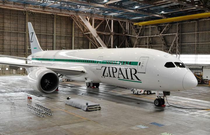 ZIPAIR、787のETOPS取得 太平洋横断可能、西海岸就航へ前進
