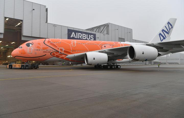 ANA、A380の3号機受領へ 10月内納入も日本飛来は未定