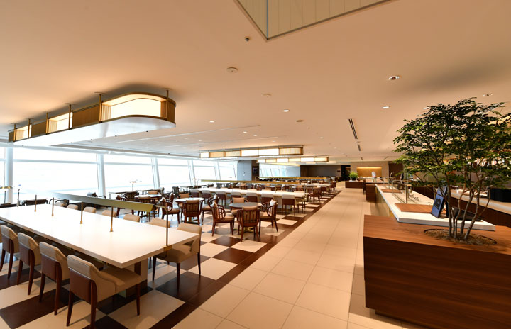 JAL、羽田・成田ファーストクラスラウンジ7月再開 サクラ対象客も利用可