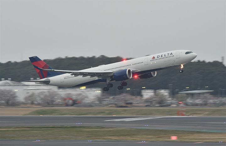 デルタ航空、羽田-ロサンゼルス5月再開 A330neoで週3往復