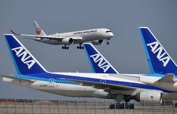 国際協力銀、JAL・ANAの航空機向け融資保証