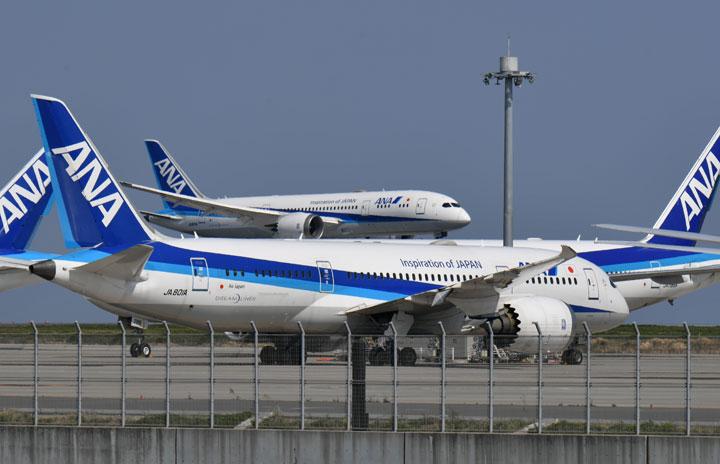 ANAの国内線、緊急事態期間中は68%減便 2月は45%、106路線9167便
