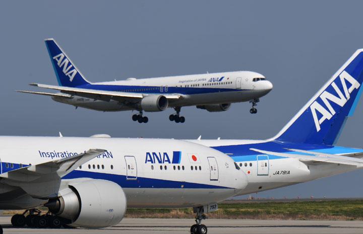 ANA、3月の国内線搭乗率53.7% 国際線は13.9%