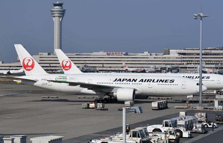 JALの20年度上期、国際線利用率20.8% 国内線39.8%