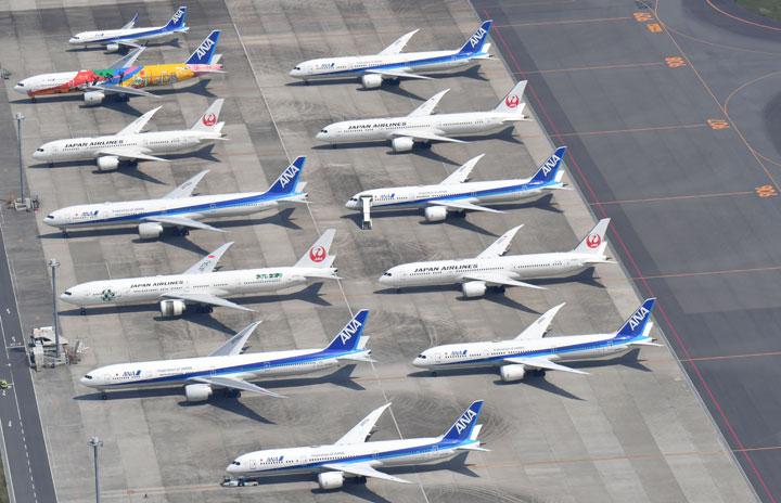 国際・国内利用率57.9% 国内線は回復兆しも IATA、20年7月旅客実績