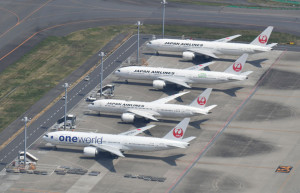 羽田空港=20年4月8日 PHOTO: Tadayuki YOSHIKAWA/Aviation Wire