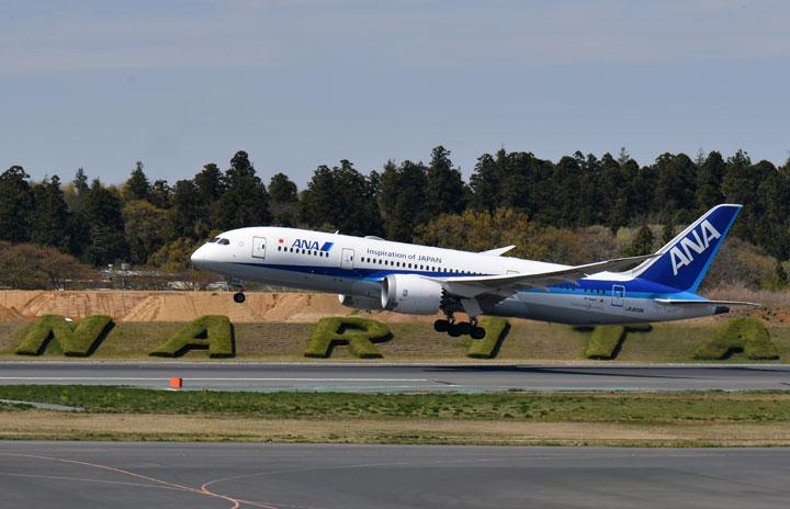 ANA、国際2路線で現地発便 羽田-バンコクと成田-マニラ