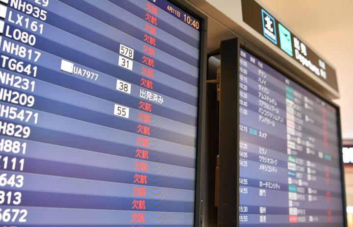 国際・国内利用率64.8% IATA「史上最も急減」2020年旅客実績