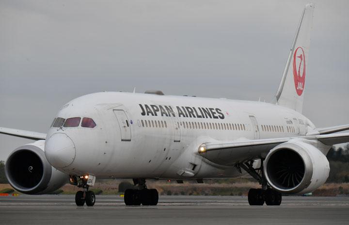 JAL、5月の国際線利用率18.0% 国内線22.5%