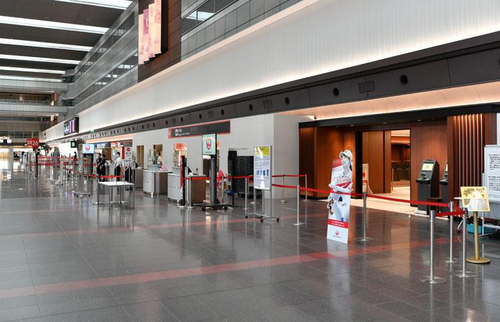 JAL、羽田にJGC個室カウンター開業 国内線