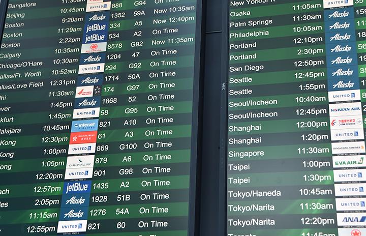 中国からの旅客便、米国への乗り入れ不可に 米運輸省、運航停止命令