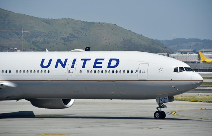 ユナイテッド航空、上海直行便に サンフランシスコから週4往復