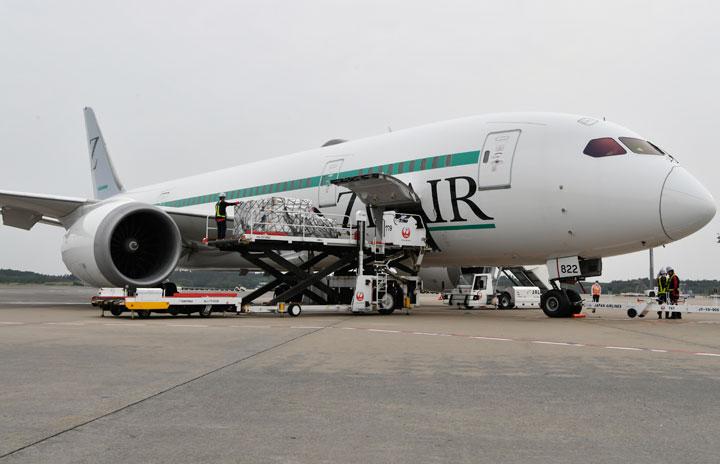 ZIPAIR、ソウルも貨物専用便 12日から週5往復
