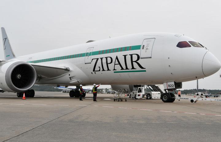 ZIPAIR、成田-ソウル就航延期 開設時期は未定