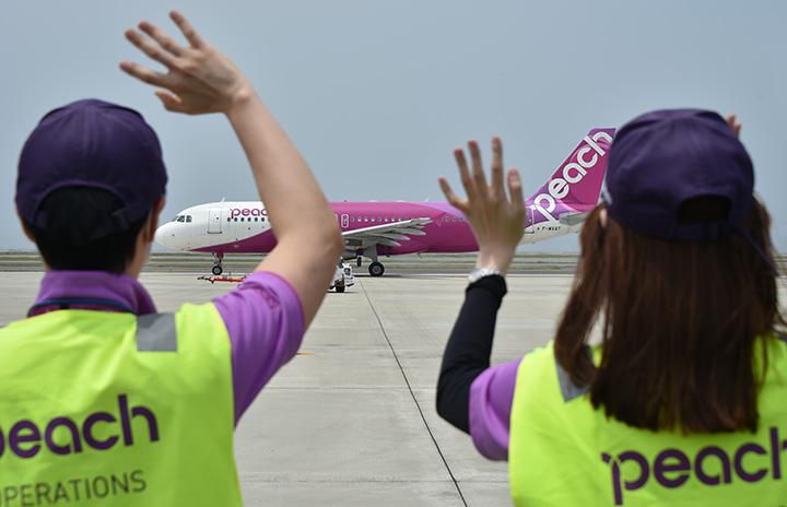 ピーチ4号機、リース満了でシンガポールへ 初号機離日から間もなく1年