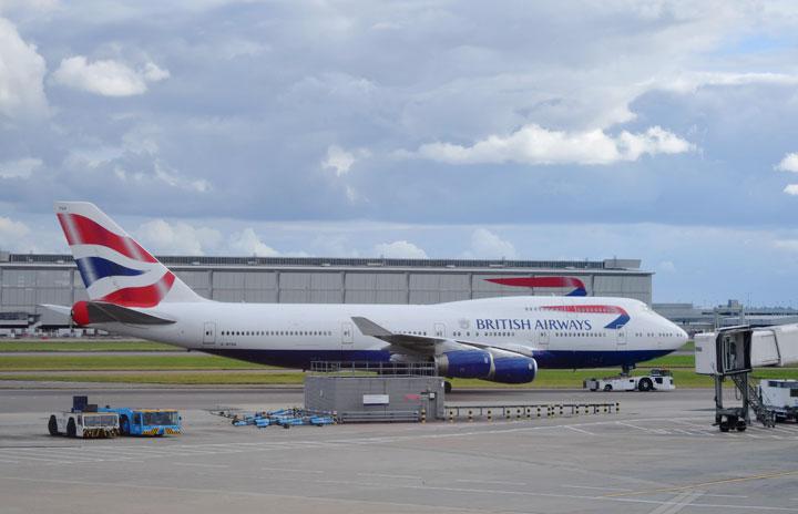 BA、747全機退役 新型コロナで運休のまま姿消す