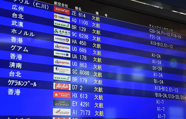 国際・国内利用率、26.8pt減57.6% IATA、20年6月旅客実績