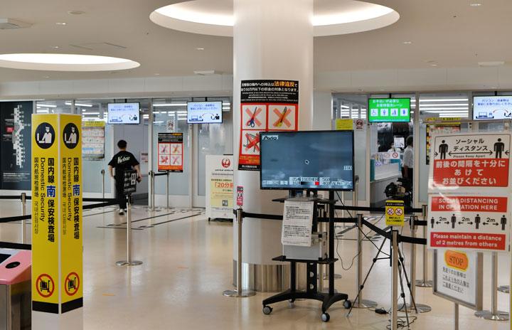 便数増える国内線、地方空港も新型コロナ感染防止策 ご当地キャラとコラボも