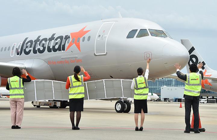 ジェットスター・ジャパン、就航8周年 片岡社長、旅客と社員に感謝