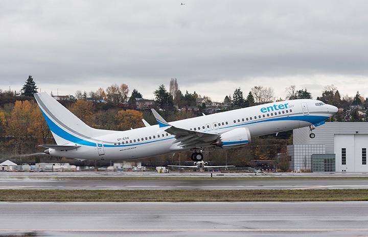 737MAX、今年初受注へ エンターエア、最大4機追加も
