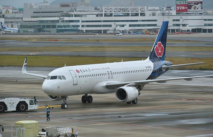 青島航空、成田-福州の中国人向けチャーター