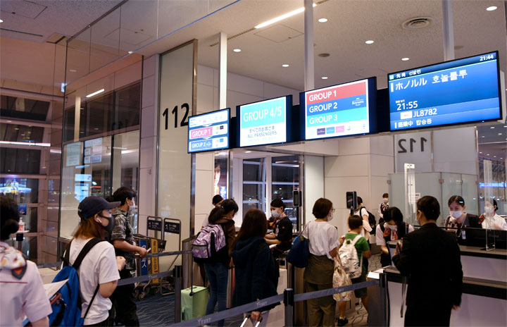 JAL、羽田-ホノルル臨時便就航 在住者や留学生向け
