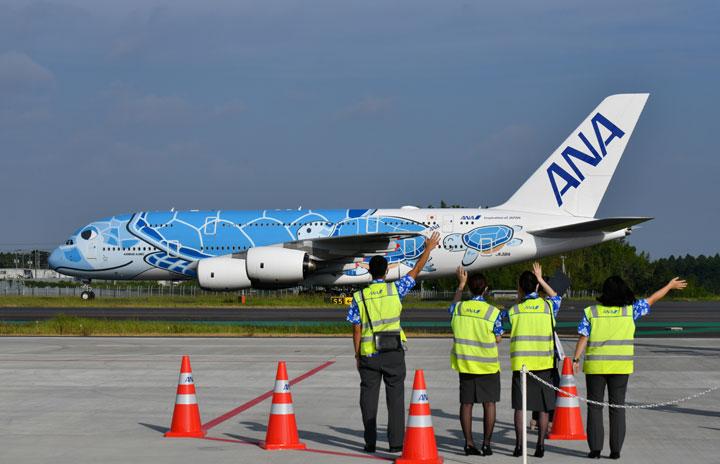 ANAのA380遊覧飛行、飛行時間2倍の3時間に 11月に第3弾