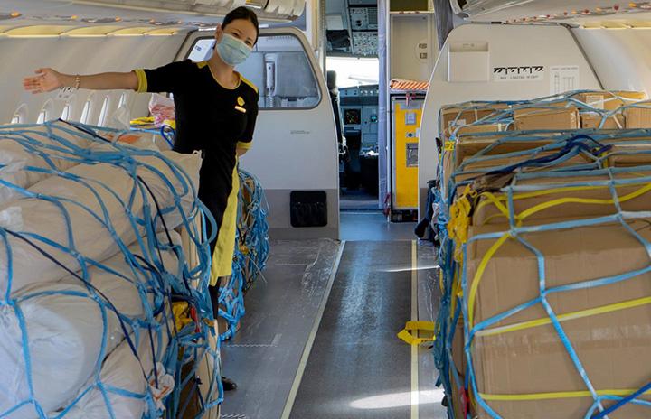 スクート、A320を貨物機に 座席外し搭載量倍増