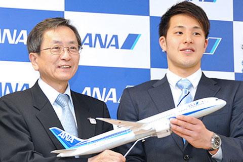 ANA、瀬戸大也と契約解除「イメージにふさわしくない」