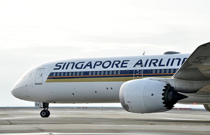 シンガポール航空、関空11月増便 週3往復に