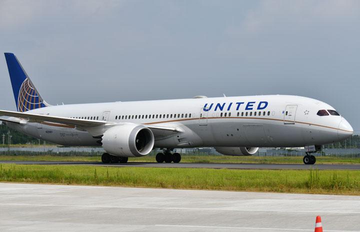 ユナイテッド航空、成田-ロサンゼルス4月再開 貨物堅調で週2往復