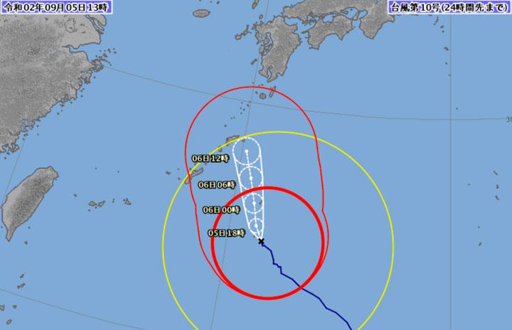 台風10号、5日は沖縄方面60便超欠航