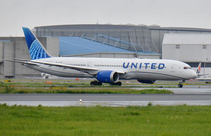 ユナイテッド航空、成田-ニューアーク減便 1月以降も3路線