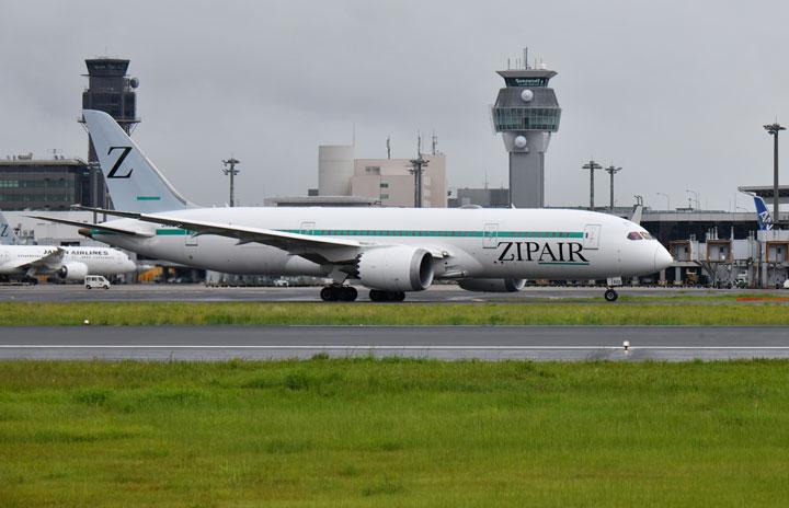 ZIPAIR、16日に初の旅客便 成田-ソウル、週2往復