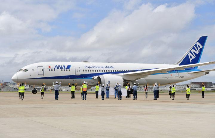 福岡空港、航空9社が合同見送り 「TEAM FUK」で明るい話題を