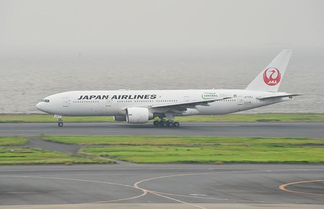 JALの777-200ER退役機、2機目も鶴丸のまま離日 新型コロナ、売却に影響も