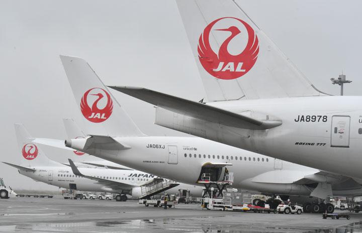 JAL国内線、3月減便5割超え 緊急事態中は6割