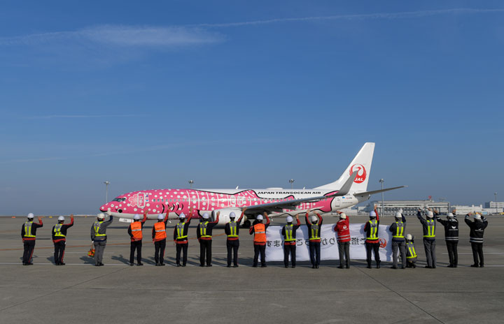 JAL、名古屋-那覇就航30周年 11月予約6割まで回復