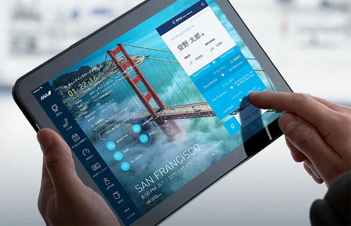 ANA、iPadアプリ12月末終了